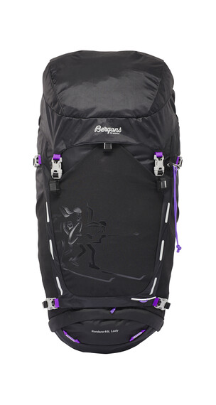 Bergans Rondane Backpack Ladies 46l Black/Amethyst